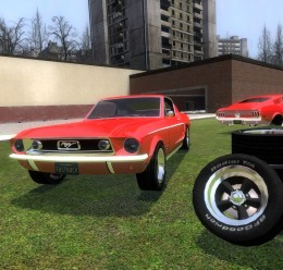 1968_ford_mustang_fastback_gt. For Garry's Mod Image 1