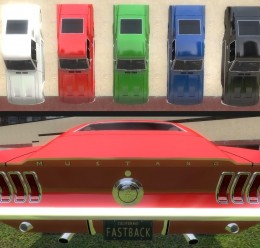 1968_ford_mustang_fastback_gt. For Garry's Mod Image 2