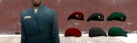 FO3 Custom Polish Army Berets