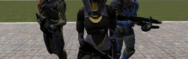 Mass Effect 2 NPC Converter Fi For Garry's Mod Image 1