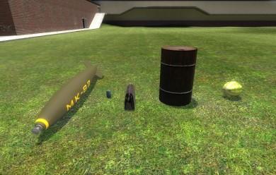 explosives.zip For Garry's Mod Image 1
