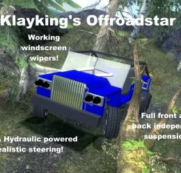klayking_-_offroadstar.zip For Garry's Mod Image 1