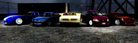 GTA IV Drivable Vehicles