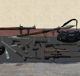 GTA IV Weapon Models + Bonuses For Garry's Mod Image 1