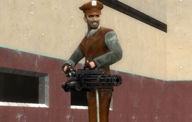 Hell's hacked L4D minigun For Garry's Mod Image 1