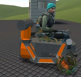 sled_bike.zip For Garry's Mod Image 2