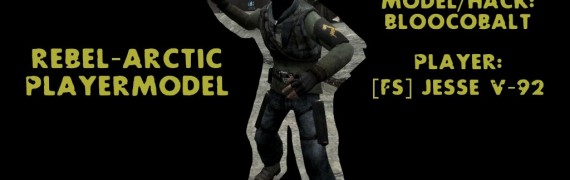 Rebel-Artic Playermodel
