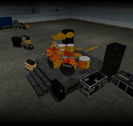 death_metal_drumkit_2.zip For Garry's Mod Image 1