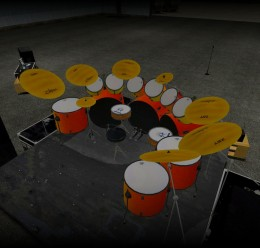 death_metal_drumkit_2.zip For Garry's Mod Image 2