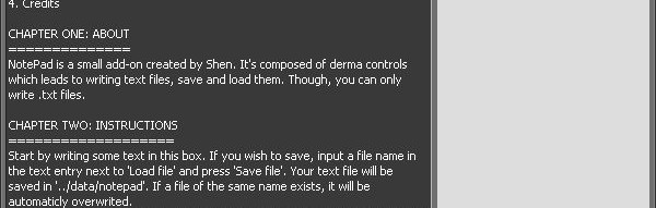 notepad_1.zip For Garry's Mod Image 1