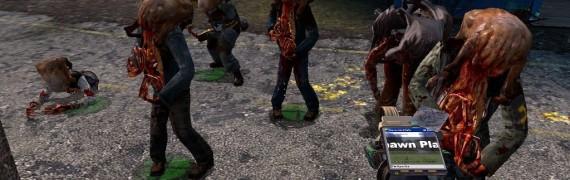 Zombie NPC Pack Spawn Platform