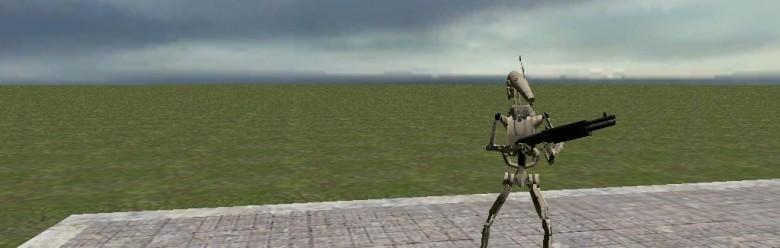 battle_droid.zip For Garry's Mod Image 1