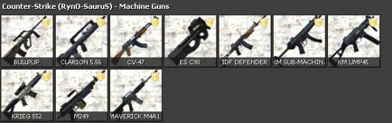 RynO's CSS Weapon Pack