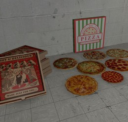 Pizza Pack 01 For Garry's Mod Image 1