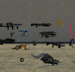 big_gun_pack_v1.zip For Garry's Mod Image 1