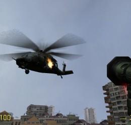 hl2_heli_blackhawk_replacement For Garry's Mod Image 1