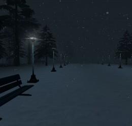 snowy_night.zip For Garry's Mod Image 3