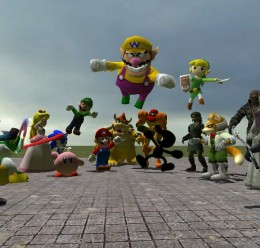 Super Smash Bros Brawl pack 1 For Garry's Mod Image 1