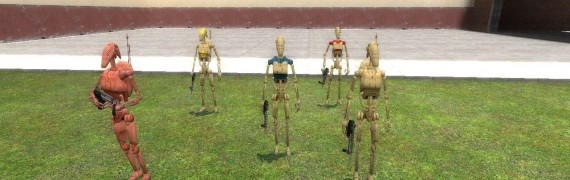 Battle droid npc pack