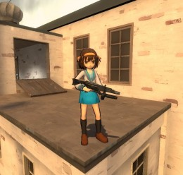 Haruhi Cell Shaded For Garry's Mod Image 1