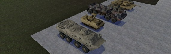 Driveable Military Models
