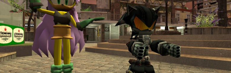 Mina Mongoose And Silver Sonic For Garry's Mod Image 1