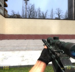 call_of_duty_4_m21_sniper_rifl For Garry's Mod Image 1