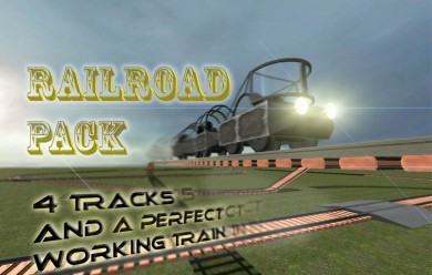 railroad_pack.zip For Garry's Mod Image 1