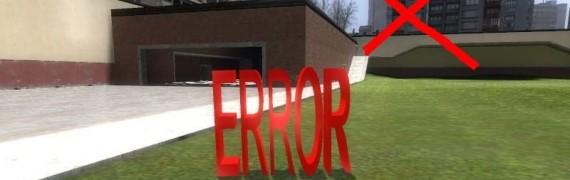 Real Error Hide
