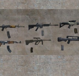 Unloaded Weapons and Magazines For Garry's Mod Image 2