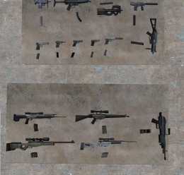 Unloaded Weapons and Magazines For Garry's Mod Image 3
