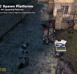 NPC Spawn Platforms V2.3 For Garry's Mod Image 2