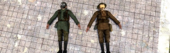World War 1 Source Ragdolls