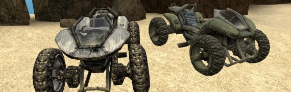 Halo 3 Scorpion and Mongoose