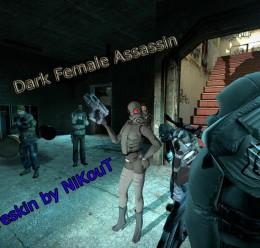 dark_female_assassin.zip For Garry's Mod Image 1