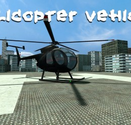 Helicopter Vehicle For Garry's Mod Image 1