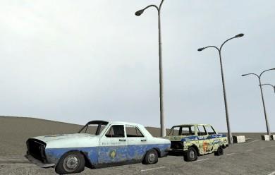 Soviet bloc police car. For Garry's Mod Image 1