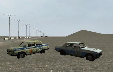 Soviet bloc police car. For Garry's Mod Image 2