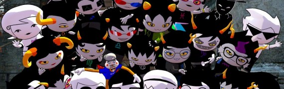 Homestuck Player Models