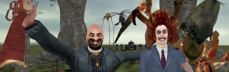 the_two_crazy_people.zip For Garry's Mod Image 1