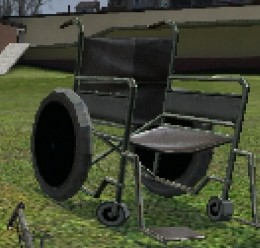 wheelchair_(prop).zip For Garry's Mod Image 1
