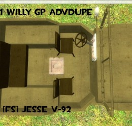 Willy GP AdvDupe WWII WW2 For Garry's Mod Image 2