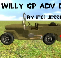 Willy GP AdvDupe WWII WW2 For Garry's Mod Image 3