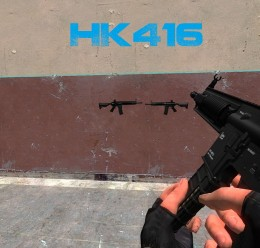 hk416_by_operatorx.zip For Garry's Mod Image 2