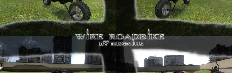 Wire_Roadbike For Garry's Mod Image 1