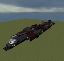Stargate Aurora Class Warship  For Garry's Mod Image 1