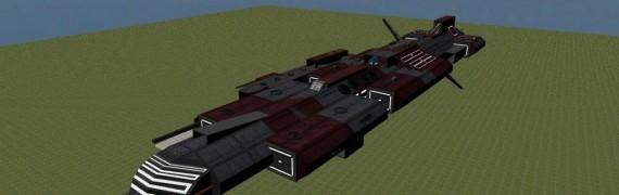 Stargate Aurora Class Warship