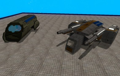 Optimized Space ships.zip For Garry's Mod Image 1
