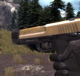 golden_pistol_reskin.zip For Garry's Mod Image 1