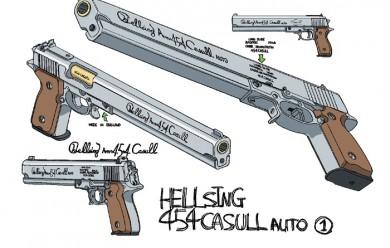hellsing_casull.zip For Garry's Mod Image 1